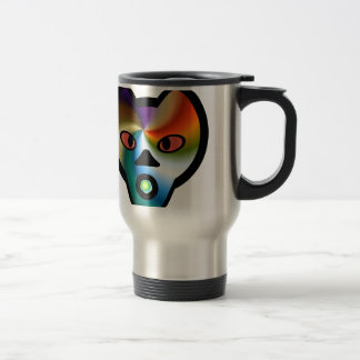 suprising face fun and cute travel mug
