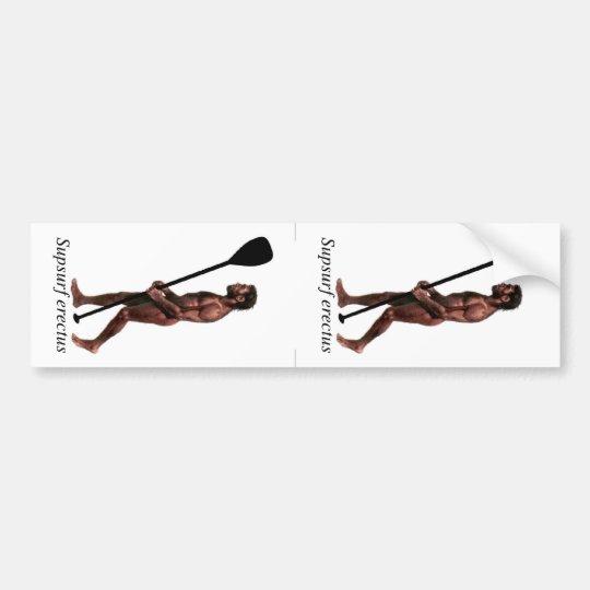 Supsurf erectus (2 Up) Bumper Sticker