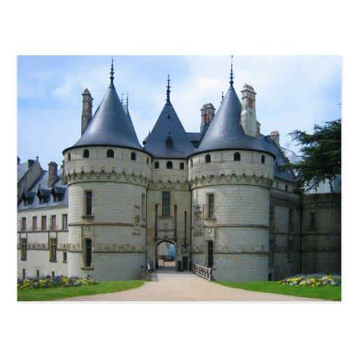 Sur el Loira de Château de Chaumont Tarjetas Postales