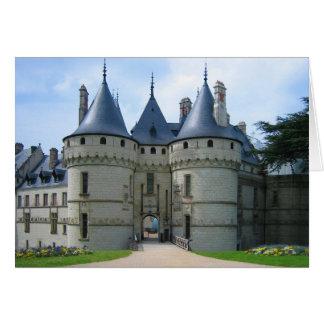 Sur el Loira de Château de Chaumont Tarjetón