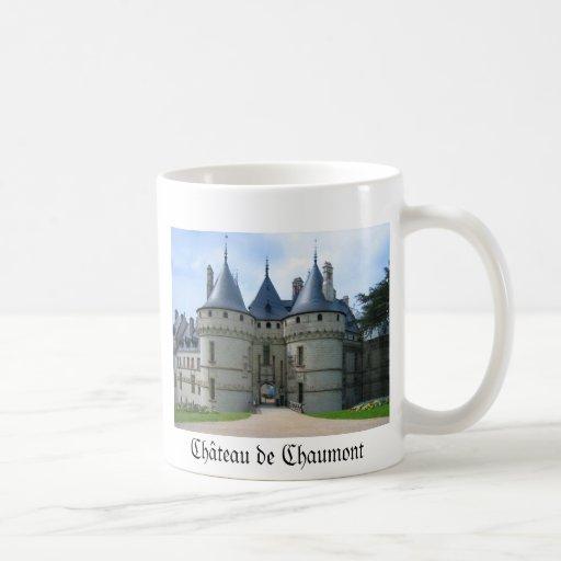 Sur el Loira de Château de Chaumont Taza De Café