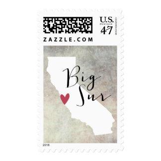 Sur grande, California Sellos Postales