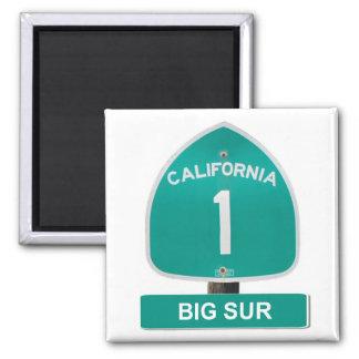 Sur grande, imán de la carretera 1 de California