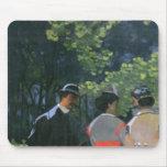 Sur L'Herbe, Chailly, 1865 del Dejeuner Tapete De Ratones