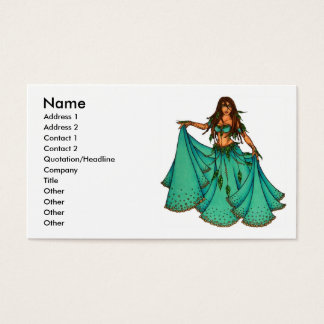Sura Belly Dancer Business Cards