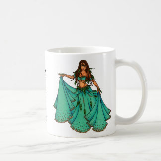 Sura Middle Eastern Belly Dancer Classic White Coffee Mug