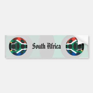 Suráfrica #1 pegatina para auto