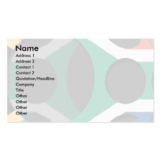 Suráfrica 1 plantillas de tarjetas de visita