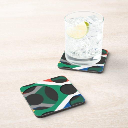 Suráfrica #1 posavasos de bebidas