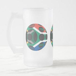 Suráfrica #1 taza de cristal