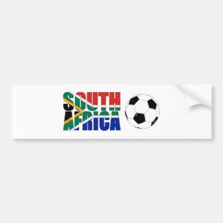 Suráfrica 2010 mundiales etiqueta de parachoque