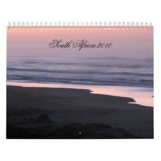 Suráfrica 2011 calendario de pared