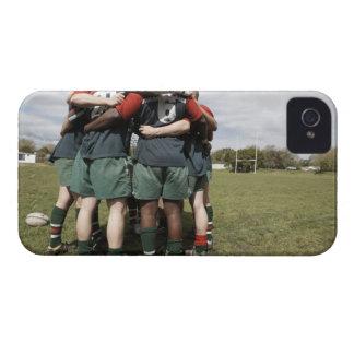 Suráfrica, Cape Town, club falso 2 del rugbi de la Case-Mate iPhone 4 Protector