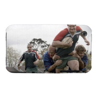 Suráfrica, Cape Town, club falso del rugbi de la Case-Mate iPhone 3 Protectores