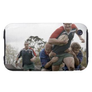 Suráfrica, Cape Town, club falso del rugbi de la iPhone 3 Tough Protector