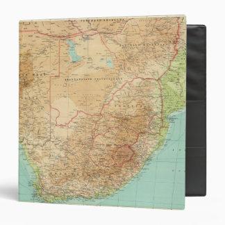 """Suráfrica con las rutas de envío carpeta 1 1/2"""""""