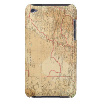 Suráfrica con las rutas de envío Case-Mate iPod touch protector