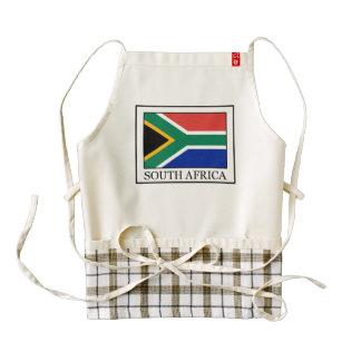 Suráfrica Delantal Zazzle HEART