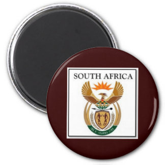 Suráfrica Imán Redondo 5 Cm