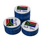 Suráfrica Juego De Fichas De Póquer