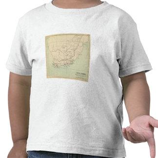 Suráfrica litografió el mapa camiseta