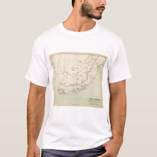 Suráfrica litografió el mapa playera