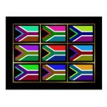 Suráfrica Multihue señala la postal por medio de u
