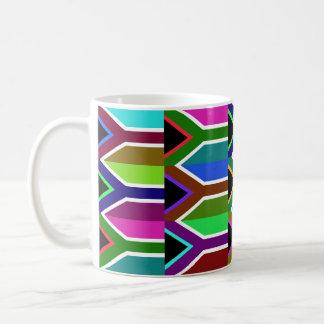 Suráfrica Multihue señala la taza por medio de una