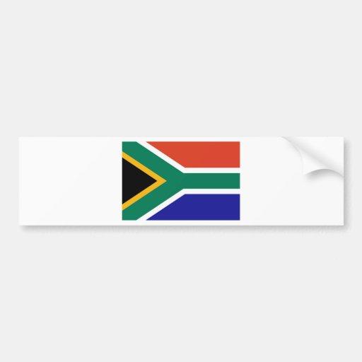 Suráfrica Pegatina De Parachoque