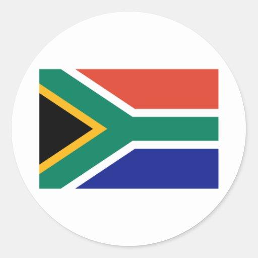 Suráfrica Pegatinas Redondas