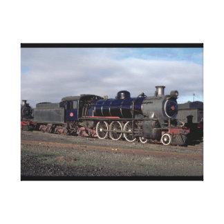 Suráfrica, SAR 4-6-2 #781_Trains del mundo Lona Estirada Galerías