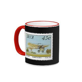 SURÁFRICA * taza del sello conmemorativo de la