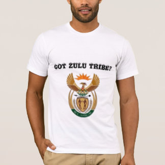 Suráfrica (tribu del Zulú) Playera