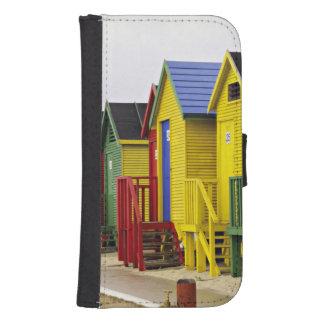 Suráfrica, Western Cape, San Jaime. Colorido Fundas Tipo Billetera Para Galaxy S4