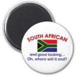 Surafricano apuesto imán