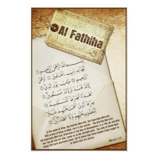 Surah Fathiha Poster