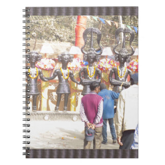 SurajKund Festival India National Capital Region Spiral Notebook