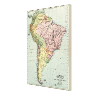 Suramérica 16 lona envuelta para galerias