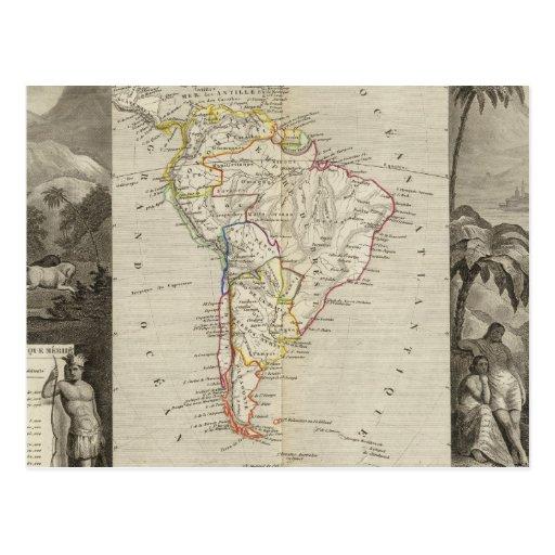 Suramérica 16 postal