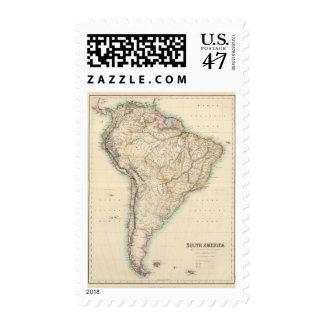 Suramérica 16 sellos postales