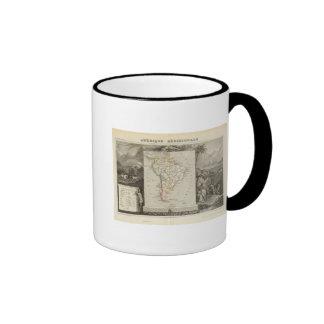 Suramérica 16 tazas de café