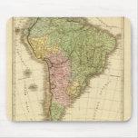 Suramérica 20 alfombrillas de raton
