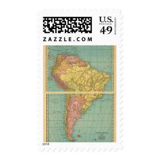 Suramérica 20 franqueo