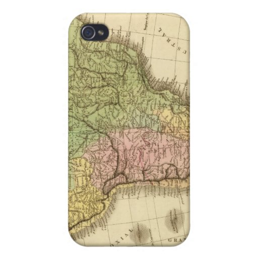 Suramérica 20 iPhone 4 fundas