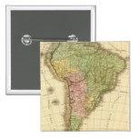 Suramérica 20 pin cuadrada 5 cm
