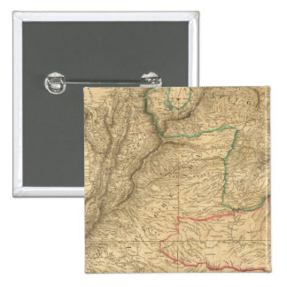 Suramérica 24 pin cuadrada 5 cm