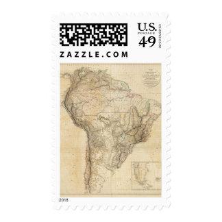 Suramérica 25 sellos