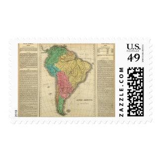 Suramérica 39 sellos postales