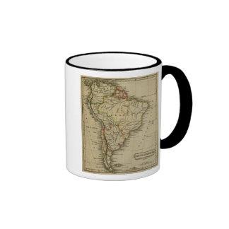 Suramérica 3 tazas de café