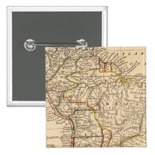Suramérica 40 pin cuadrada 5 cm
